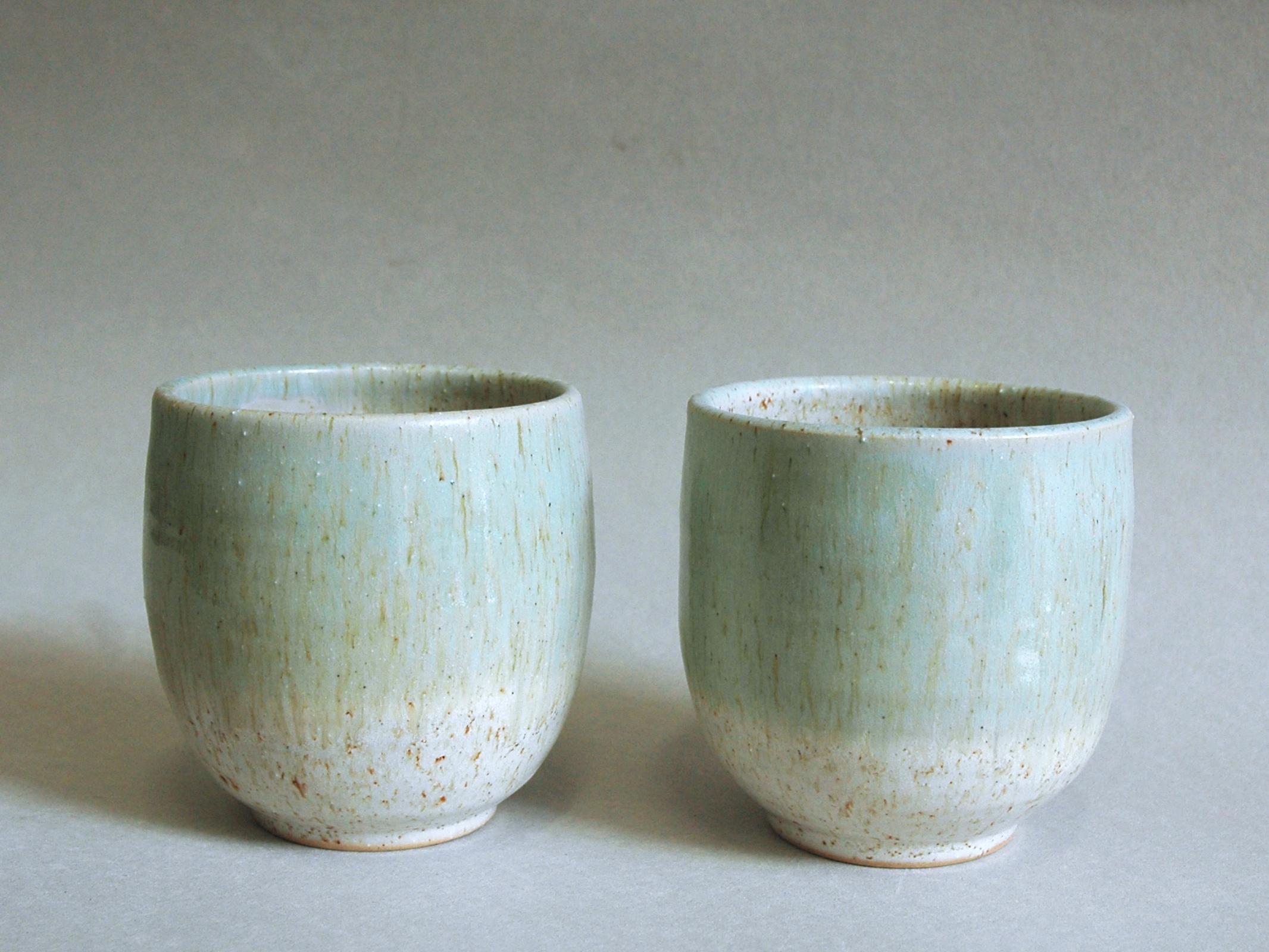 Tazze – Bianco Sabbia:Celadon
