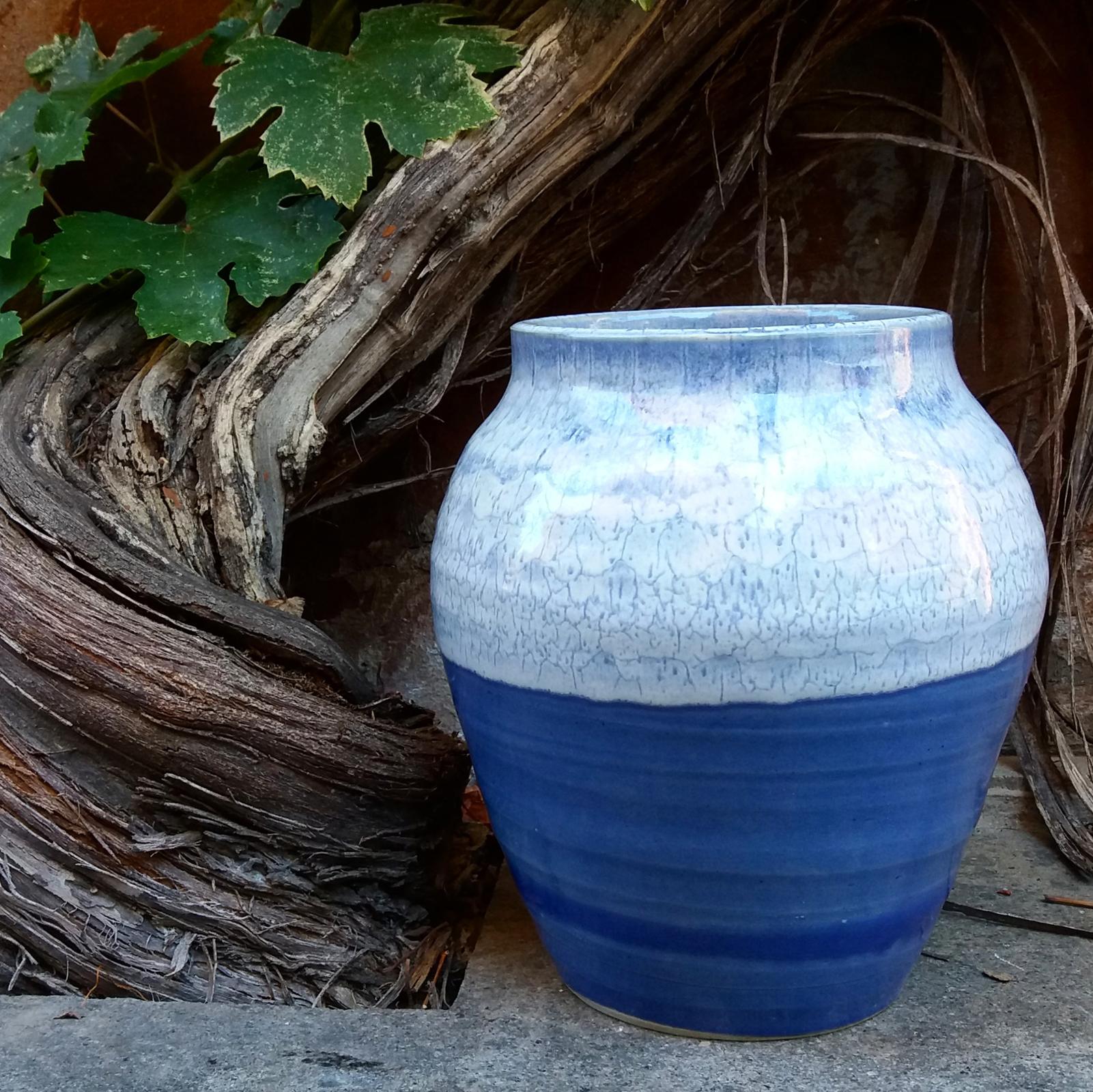 Vaso – Blu:Bianco